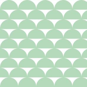 half circle mint