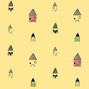 Little Neighborhood - Yellow