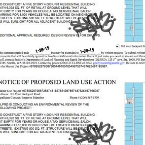 Notice of Land Use Action