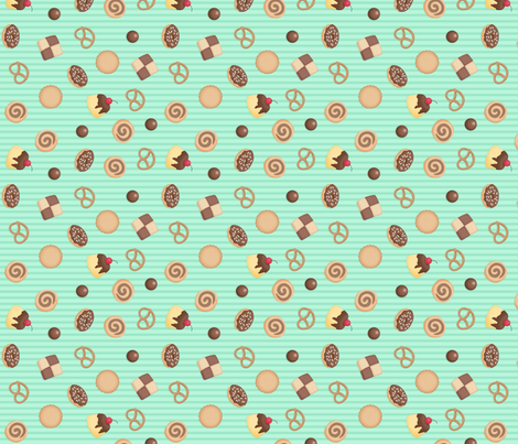 Ribbon House Coord fabric by sparklepipsi on Spoonflower - custom fabric