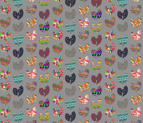 WU fabric by biancagreen on Spoonflower - custom fabric