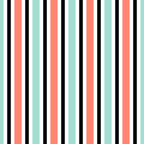 deck chair stripe fabric by sef on Spoonflower - custom fabric