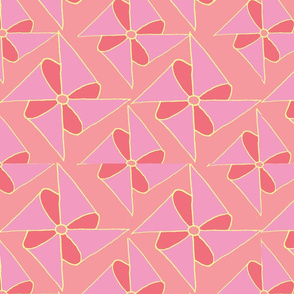 Pinwheels in Pink