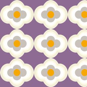 Dotterblumen in lila
