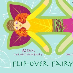 Aster & Fae - Flip-over Fairy Doll