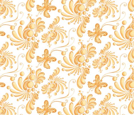 Golden Balls- Large- White Background, Ornate Swirly ...