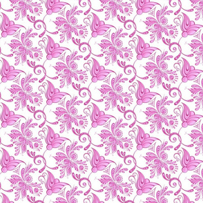 Purple Pretties- Small- White Background- Flower Bud Designs