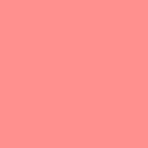 Vintage Coral pink solid