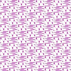 Aspen Slopes Purple White