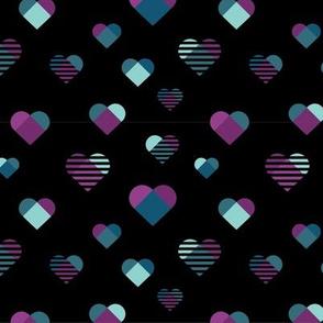 Graphic Hearts