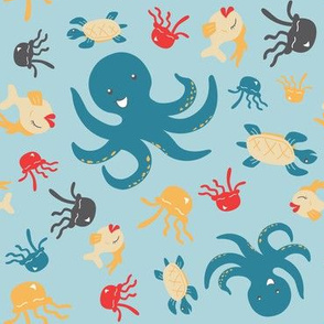 Rocktopus Animals