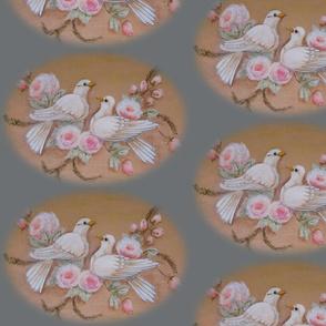 Doves in Gray