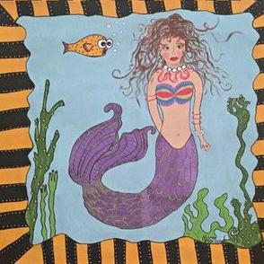 The painted mermaid