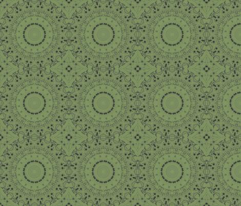 Pollination fabric by chubbellart on Spoonflower - custom fabric