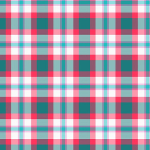 Spring Colors Plaid