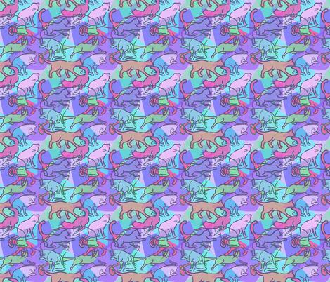 Hepcat - jazz fabric by woodledoo on Spoonflower - custom fabric