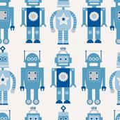 Robots Wallpaper Pattern