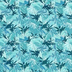 Sparkle Turquoise 420 Camo