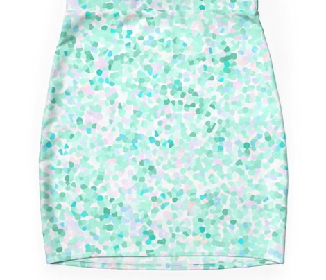 Confetti Mermaid Seafoam* Green