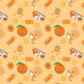 Kawaii Orange Palooza