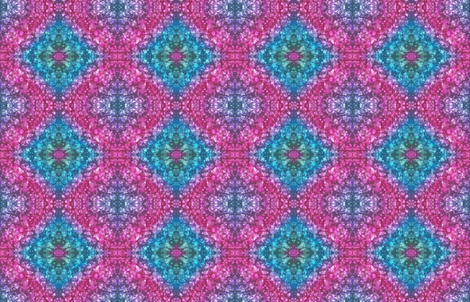 Bokeh Dreaming in Blue and Pink fabric by enelya13 on Spoonflower - custom fabric