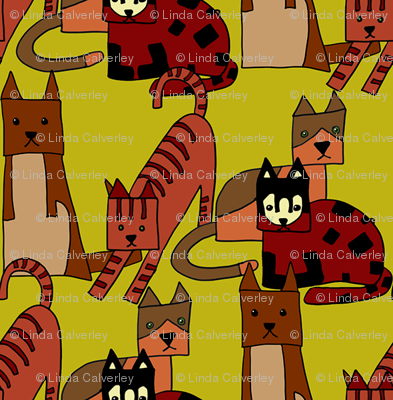 The other cubist cats