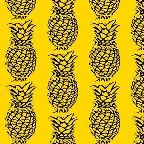 Pineapple's in Yellow