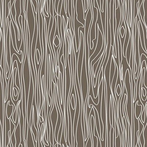 Woodgrain - Brown with white grain - small scale