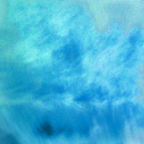 Deep Blue Wavy Cloud Abstract