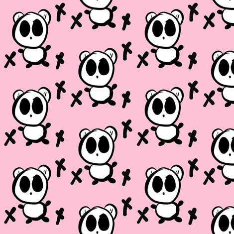 Panda7 fabric by mayadesign on Spoonflower - custom fabric