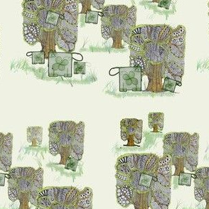 Trees and kitties