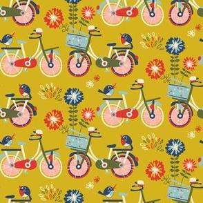 bikes - yellow