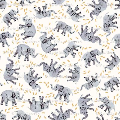 Elephants Love Peanuts