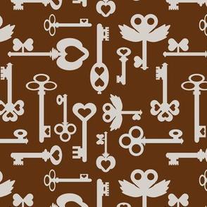 Keys_brown