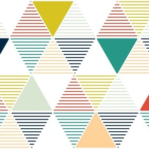 Modern Geometric - white