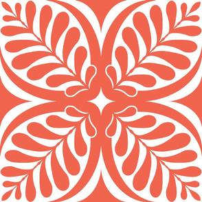 Fern Block Coral