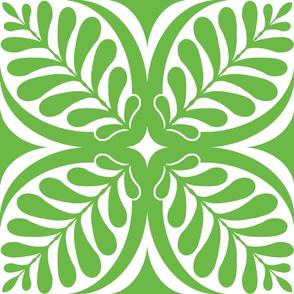 Fern Block Green