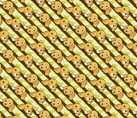 Rescue pups fabric by hannafate on Spoonflower - custom fabric