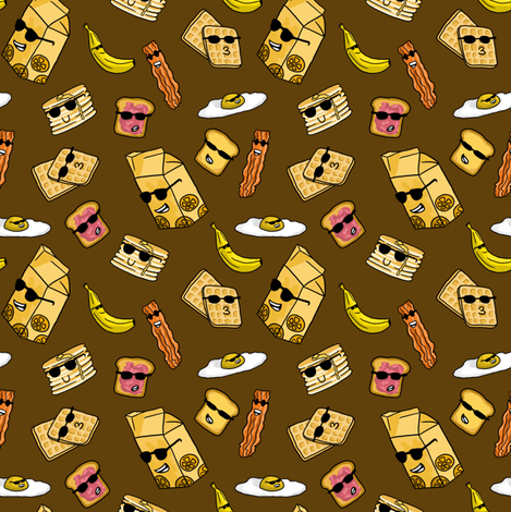 Sunny Side Up fabric by amber_morgan on Spoonflower - custom fabric