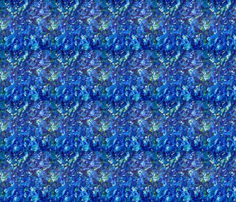Blue Glories fabric by gayaartdesigns on Spoonflower - custom fabric