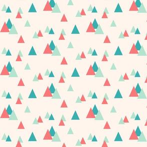 Confetti Triangles Cream