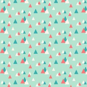 Confetti Triangles Mint