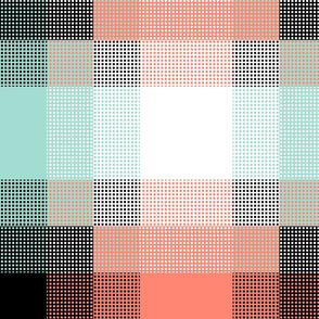 Retro New Mexico ~  Grid Gradient