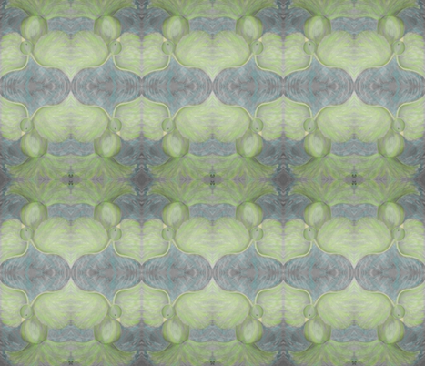 dove - soft green fabric by dusty_james on Spoonflower - custom fabric