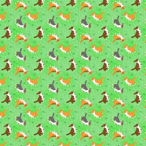 Tiny Cardigans - green