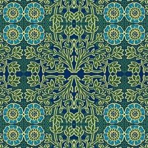 Shakespeare Posy Blue