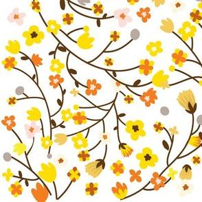 Yellow and Orange Blossom