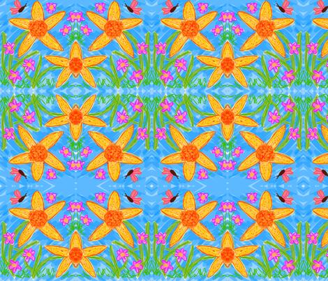 Lazy Days fabric by dusty_james on Spoonflower - custom fabric