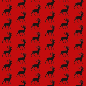 Deep Red Deer