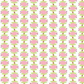 Yasmin pink and white